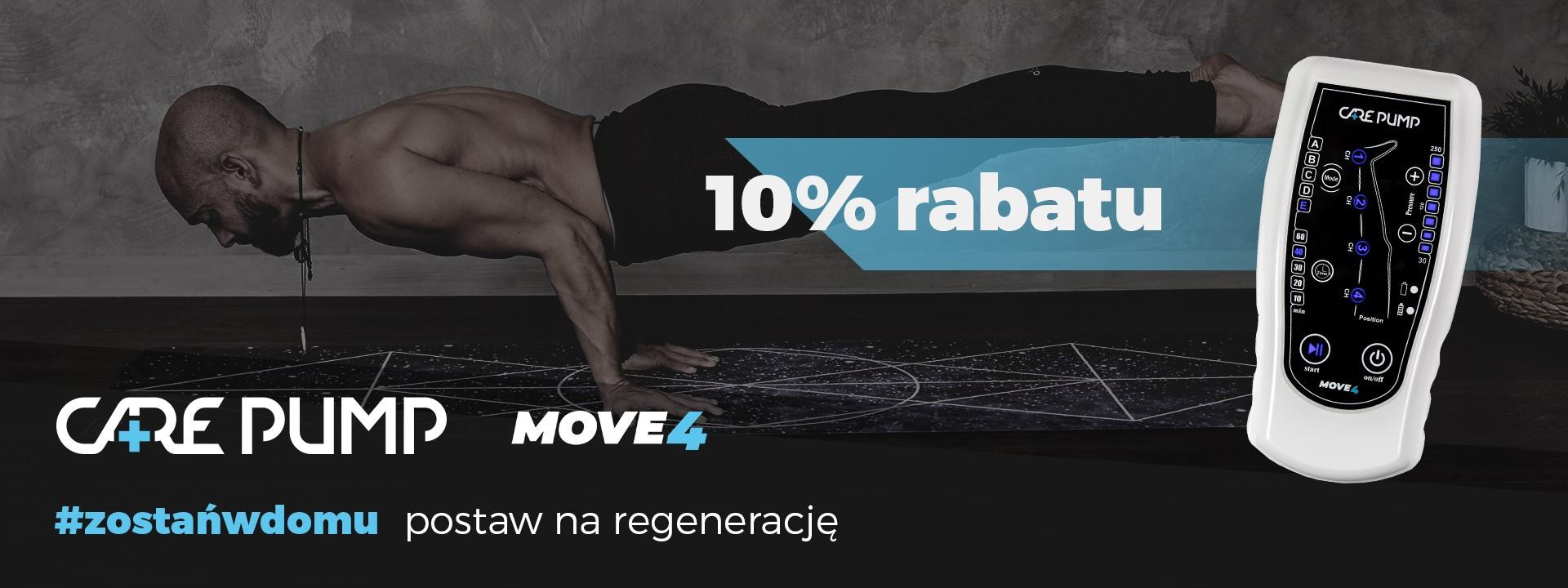 10% rabatu na aparat CarePump Move4